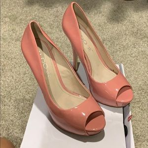 Like New Blush Heels